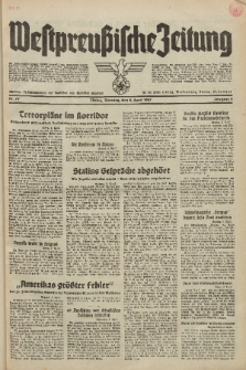 Westpreussische Zeitung, Nr. 79 Dienstag 6 April 1937, 6. Jahrgang