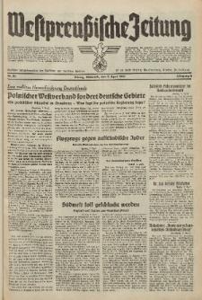 Westpreussische Zeitung, Nr. 80 Mittwoch 7 April 1937, 6. Jahrgang