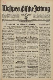 Westpreussische Zeitung, Nr. 86 Mittwoch 14 April 1937, 6. Jahrgang
