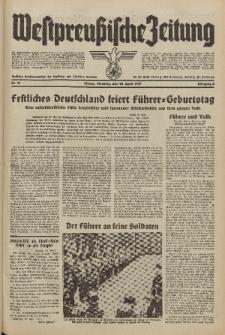 Westpreussische Zeitung, Nr. 91 Dienstag 20 April 1937, 6. Jahrgang