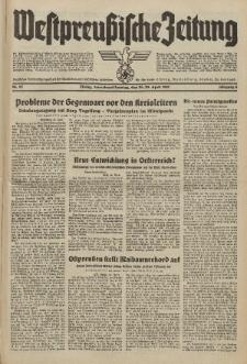 Westpreussische Zeitung, Nr. 95 Sonnabend/Sonntag 24/25 April 1937, 6. Jahrgang