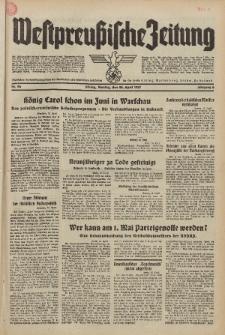 Westpreussische Zeitung, Nr. 96 Montag 26 April 1937, 6. Jahrgang