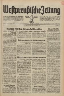 Westpreussische Zeitung, Nr. 97 Dienstag 27 April 1937, 6. Jahrgang