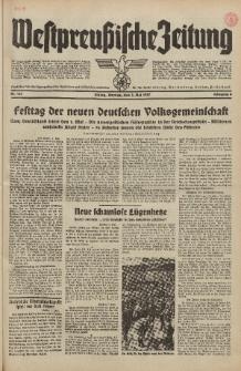 Westpreussische Zeitung, Nr. 101 Montag 3 Mai 1937, 6. Jahrgang