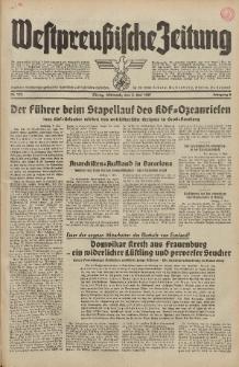 Westpreussische Zeitung, Nr. 103 Mittwoch 5 Mai 1937, 6. Jahrgang