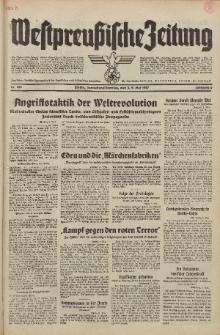 Westpreussische Zeitung, Nr. 105 Sonnabend/Sonntag 8/9 Mai 1937, 6. Jahrgang
