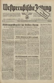 Westpreussische Zeitung, Nr. 111 Sonnabend/Sonntag 15/16 Mai 1937, 6. Jahrgang