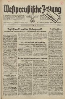 Westpreussische Zeitung, Nr. 116 Sonnabend/Sonntag 22/23 Mai 1937, 6. Jahrgang