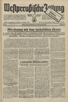 Westpreussische Zeitung, Nr. 122 Sonnabend/Sonntag 29/30 Mai 1937, 6. Jahrgang