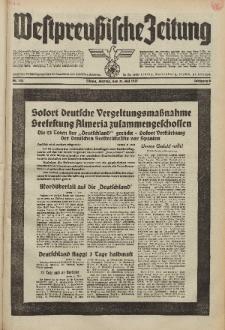 Westpreussische Zeitung, Nr. 123 Montag 31 Mai 1937, 6. Jahrgang