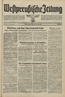 Westpreussische Zeitung, Nr. 132 Donnerstag 10 Juni 1937, 6. Jahrgang