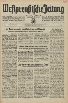 Westpreussische Zeitung, Nr. 136 Dienstag 15 Juni 1937, 6. Jahrgang