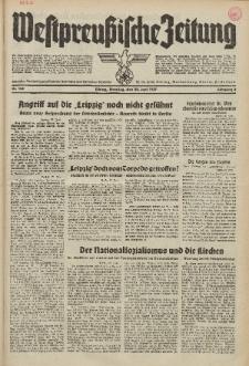 Westpreussische Zeitung, Nr. 142 Dienstag 22 Juni 1937, 6. Jahrgang