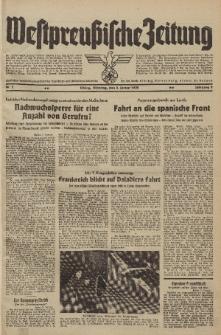 Westpreussische Zeitung, Nr. 2 Dienstag 3 Januar 1939, 8. Jahrgang