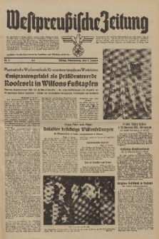 Westpreussische Zeitung, Nr. 4 Donnerstag 5 Januar 1939, 8. Jahrgang