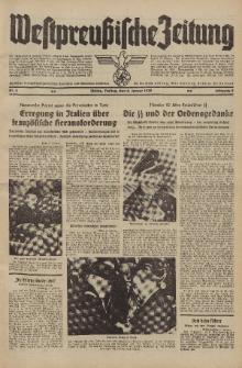 Westpreussische Zeitung, Nr. 5 Freitag 6 Januar 1939, 8. Jahrgang