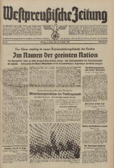 Westpreussische Zeitung, Nr. 11 Freitag 13 Januar 1939, 8. Jahrgang