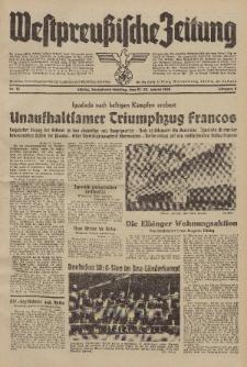 Westpreussische Zeitung, Nr. 18 Sonnabend/Sonntag 21/22 Januar 1939, 8. Jahrgang