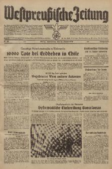 Westpreussische Zeitung, Nr. 22 Donnerstag 26 Januar 1939, 8. Jahrgang