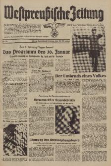 Westpreussische Zeitung, Nr. 24 Sonnabend/Sonntag 28/29 Januar 1939, 8. Jahrgang