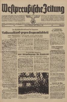 Westpreussische Zeitung, Nr. 27 Mittwoch 1 Februar 1939, 8. Jahrgang