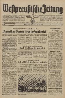 Westpreussische Zeitung, Nr. 28 Donnerstag 2 Februar 1939, 8. Jahrgang