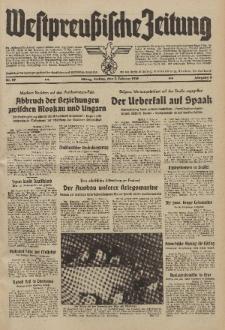 Westpreussische Zeitung, Nr. 29 Freitag 3 Februar 1939, 8. Jahrgang