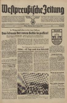 Westpreussische Zeitung, Nr. 32 Dienstag 7 Februar 1939, 8. Jahrgang