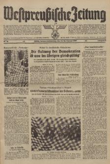 Westpreussische Zeitung, Nr. 36 Sonnabend/Sonntag 11/12 Februar 1939, 8. Jahrgang