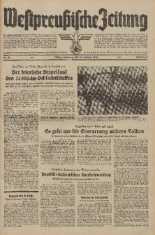 Westpreussische Zeitung, Nr. 38 Dienstag 14 Februar 1939, 8. Jahrgang