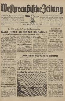 Westpreussische Zeitung, Nr. 39 Mittwoch 15 Februar 1939, 8. Jahrgang