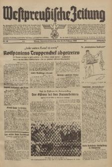Westpreussische Zeitung, Nr. 42 Sonnabend/Sonntag 18/19 Februar 1939, 8. Jahrgang
