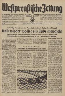 Westpreussische Zeitung, Nr. 44 Dienstag 21 Februar 1939, 8. Jahrgang