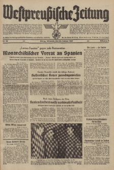 Westpreussische Zeitung, Nr. 45 Mittwoch 22 Februar 1939, 8. Jahrgang