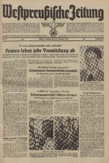 Westpreussische Zeitung, Nr. 47 Freitag 24 Februar 1939, 8. Jahrgang