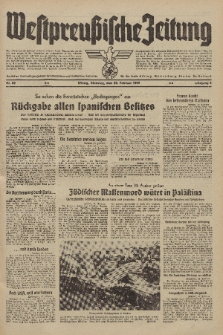Westpreussische Zeitung, Nr. 50 Dienstag 28 Februar 1939, 8. Jahrgang