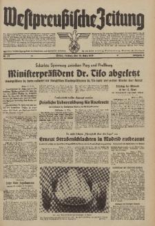 Westpreussische Zeitung, Nr. 59 Freitag 10 März 1939, 8. Jahrgang