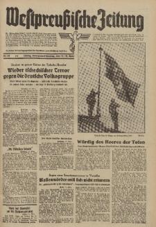 Westpreussische Zeitung, Nr. 60 Sonnabend/Sonntag 11/12 März 1939, 8. Jahrgang