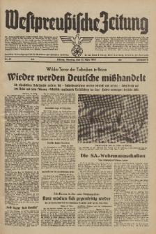 Westpreussische Zeitung, Nr. 61 Montag 13 März 1939, 8. Jahrgang