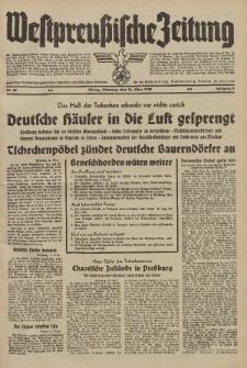 Westpreussische Zeitung, Nr. 62 Dienstag 14 März 1939, 8. Jahrgang