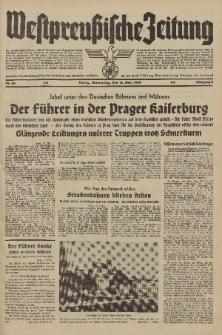 Westpreussische Zeitung, Nr. 64 Donnerstag 16 März 1939, 8. Jahrgang