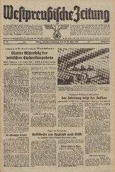 Westpreussische Zeitung, Nr. 72 Sonnabend/Sonntag 25/26 März 1939, 8. Jahrgang