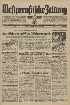 Westpreussische Zeitung, Nr. 74 Dienstag 28 März 1939, 8. Jahrgang