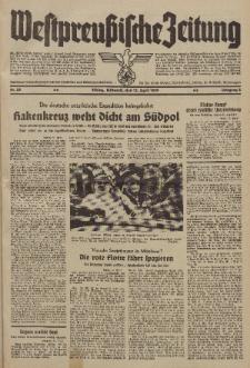 Westpreussische Zeitung, Nr. 85 Mittwoch 12 April 1939, 8. Jahrgang