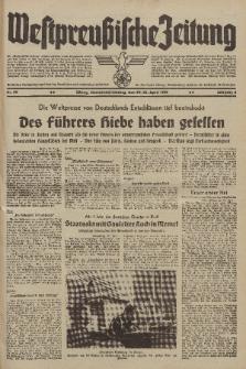 Westpreussische Zeitung, Nr. 99 Sonnabend/Sontag 21 April 1939, 8. Jahrgang