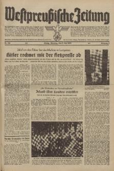 Westpreussische Zeitung, Nr. 100 Dienstag 2 Mai 1939, 8. Jahrgang