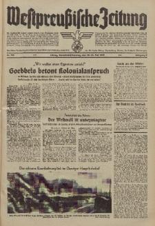 Westpreussische Zeitung, Nr. 115 Sonnabend/Sonntag 20/21 Mai 1939, 8. Jahrgang