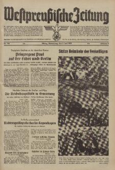 Westpreussische Zeitung, Nr. 124 Donnerstag 1 Juni 1939, 8. Jahrgang