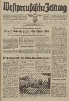 Westpreussische Zeitung, Nr. 129 Mittwoch 7 Juni 1939, 8. Jahrgang