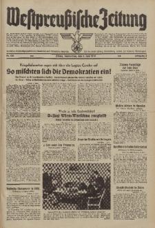 Westpreussische Zeitung, Nr. 130 Donnerstag 8 Juni 1939, 8. Jahrgang